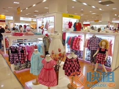 高新奎文市区大型商场童装专柜急转