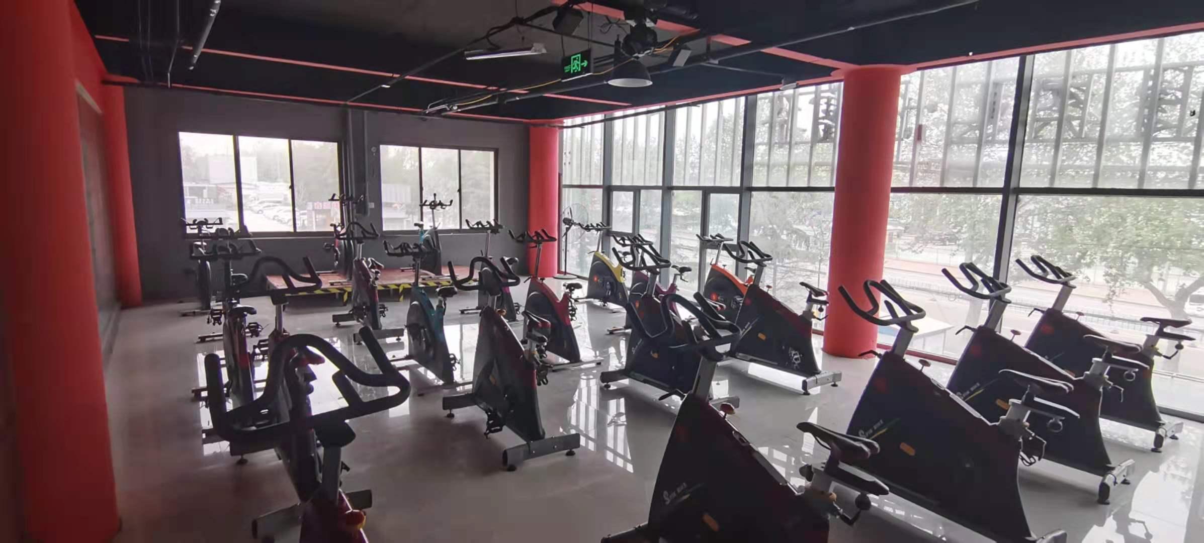 (快租免费寻址)安丘永安路南苑路健身房转让